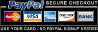 Payments By PayPal Accepted